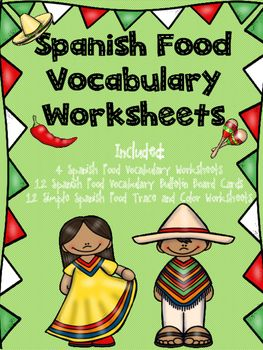Spanish food vocabulary worksheets spanish vocabulary worksheets spanish food vocabulary worksheet write food words in spanish spanish food vocabulary worksheet ibookread Download