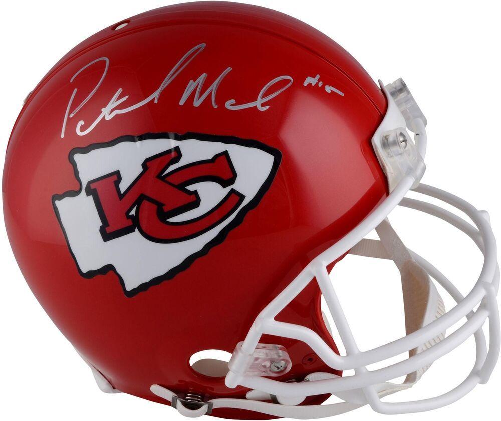 2596882912e Patrick Mahomes Kansas City Chiefs Autographed Riddell Pro-Line Helmet   FootballHelmet  sportsmemorabilia  autograph