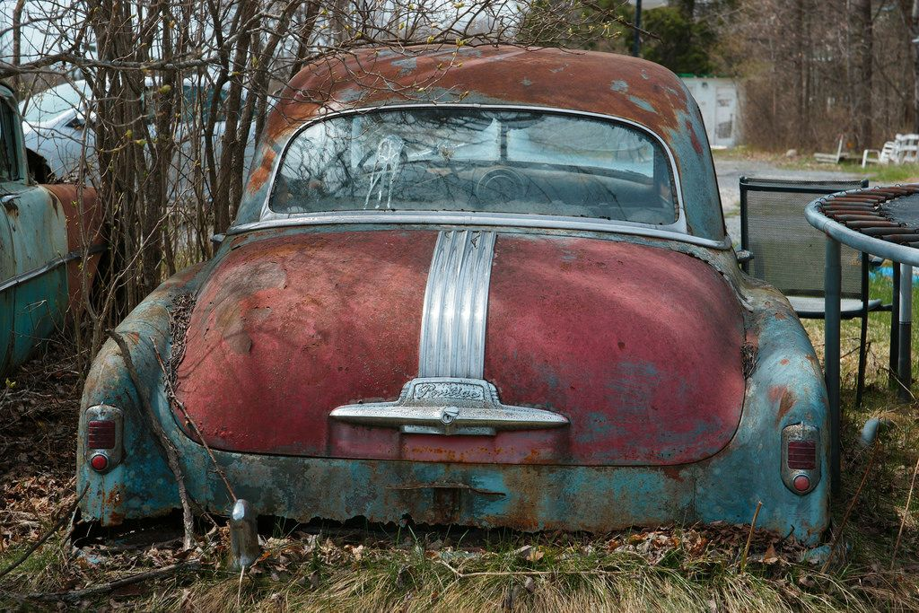 Pin by Juan Morales on pontiac Abandoned cars, Classy