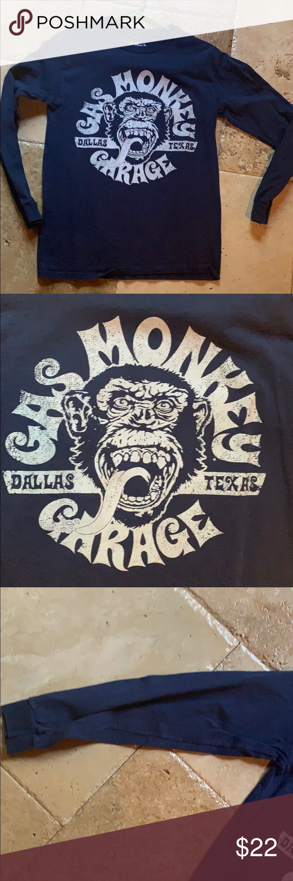 Gas monkey garage T-shirt Men's longsleeve T-shirt from the television show gas monkey garage. Worn only once or twice Gas Monkey Shirts Tees - Long Sleeve #gasmonkeygarage Gas monkey garage T-shirt Men's longsleeve T-shirt from the television show gas monkey garage. Worn only once or twice Gas Monkey Shirts Tees - Long Sleeve #gasmonkeygarage Gas monkey garage T-shirt Men's longsleeve T-shirt from the television show gas monkey garage. Worn only once or twice Gas Monkey Shirts Tees - Long #gasmonkeygarage