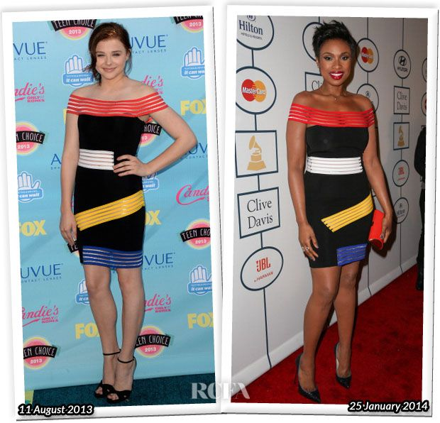 Who Wore Christopher Kane Better…Chloe Moretz or Jennifer Hudson