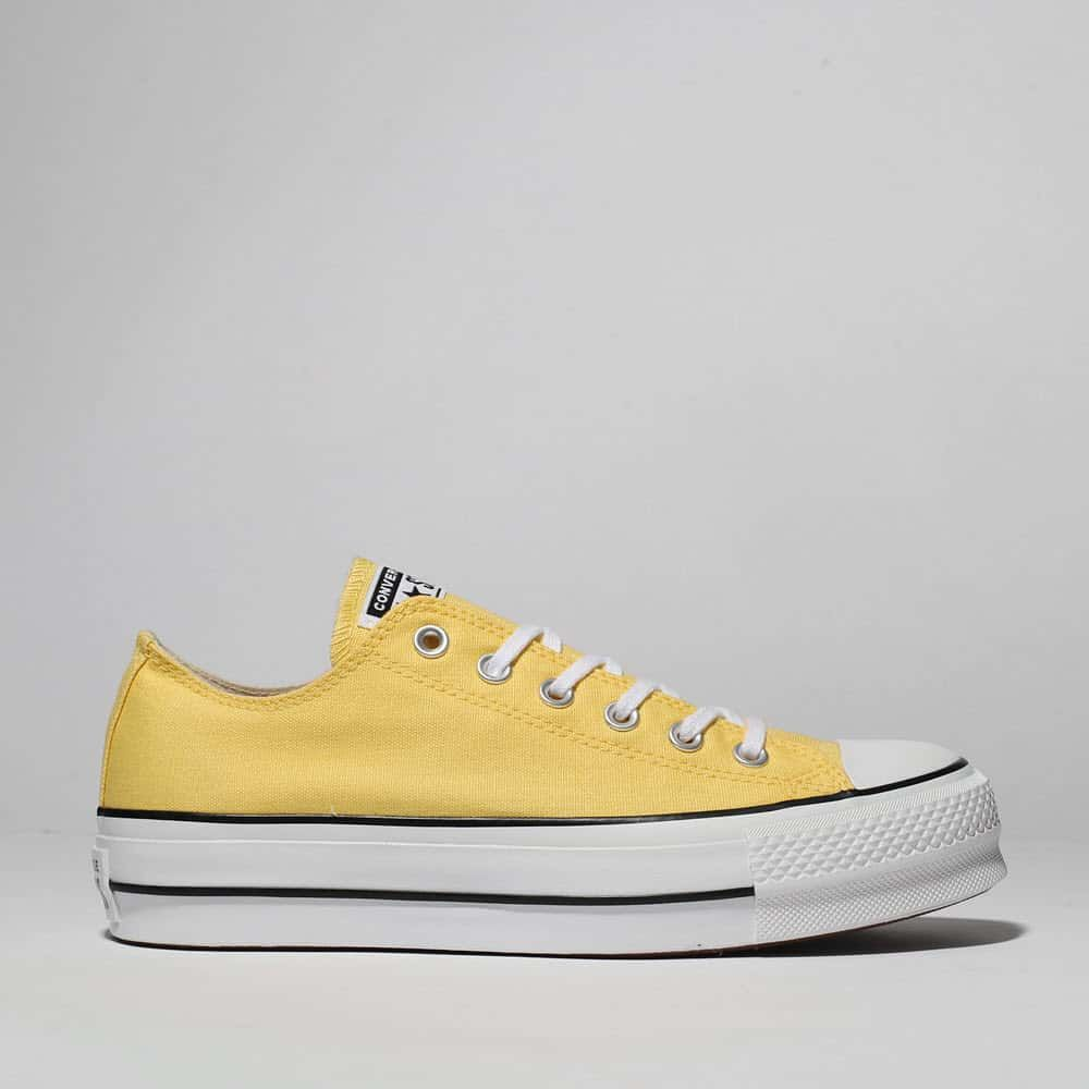 womens yellow converse all star ox lift