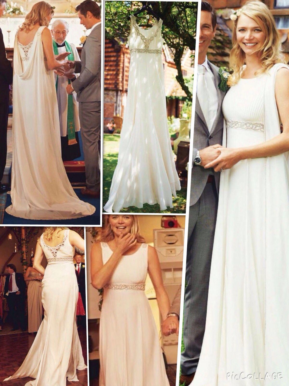 Famous wedding dresses  Jodie Kidd th August   Casamento  Pinterest   august