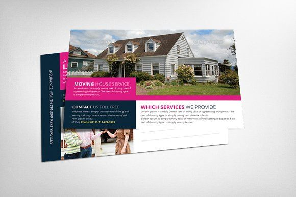 Luxury Home Real Estate Postcard Template Design By Stocklayouts