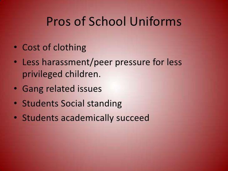 Essays about school uniforms