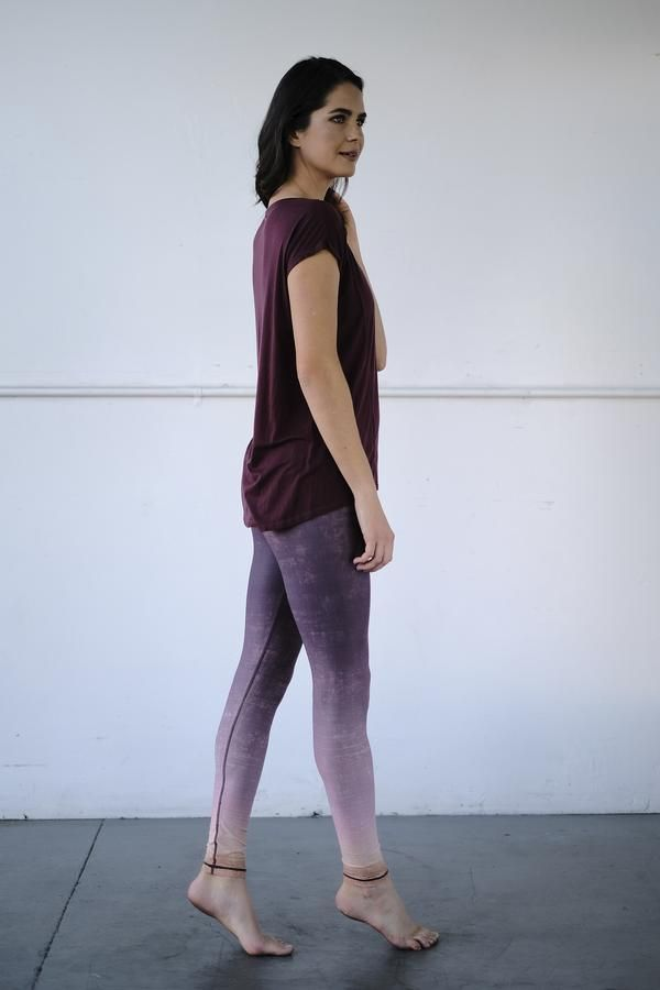 watch abbca 3a0ee Elevate your street style in our new Dip Dye Barefoot legging in Sedona! We  know