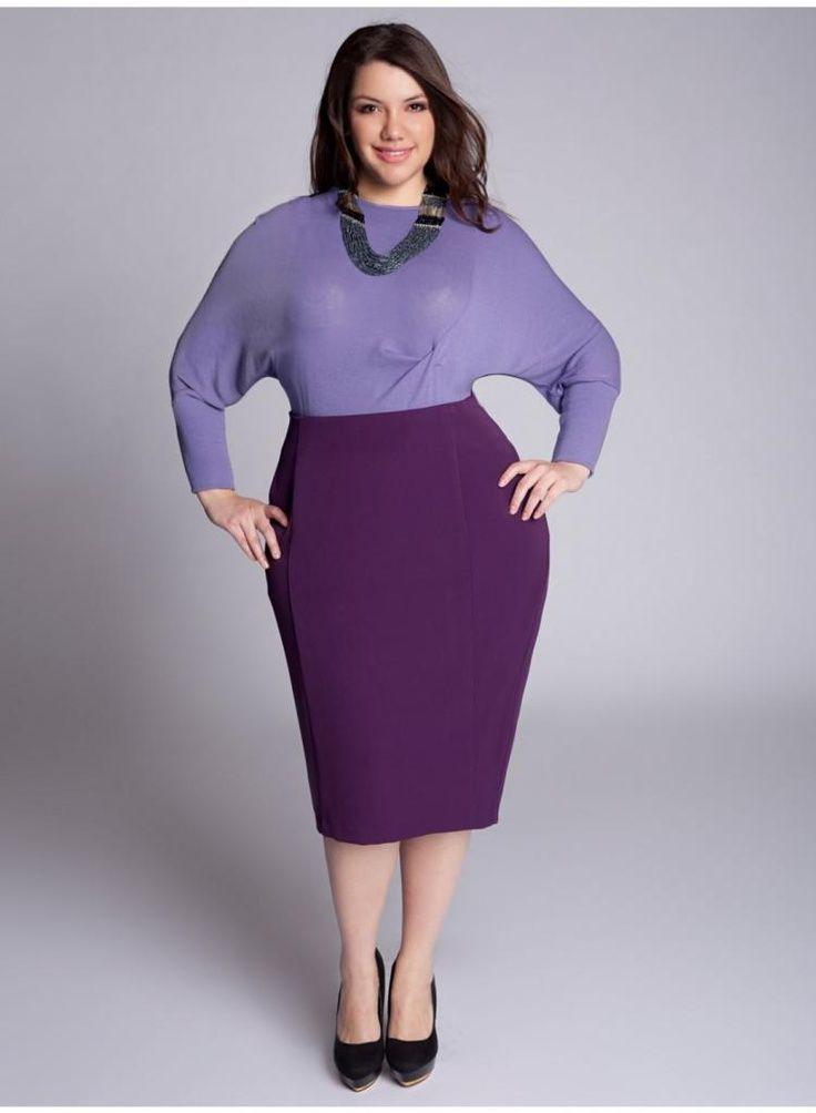 6445b8bec0c cutethickgirls.com plus size pencil dress 06  plussizedresses Purple Pencil  Skirts