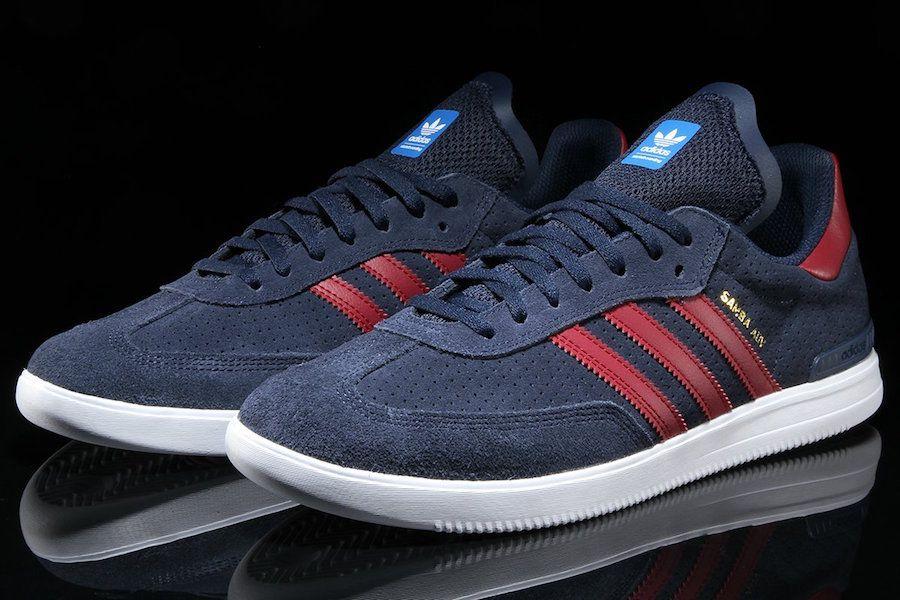 adidas Samba ADV Navy Suede CQ1134 - Sneaker Bar Detroit  44a563252