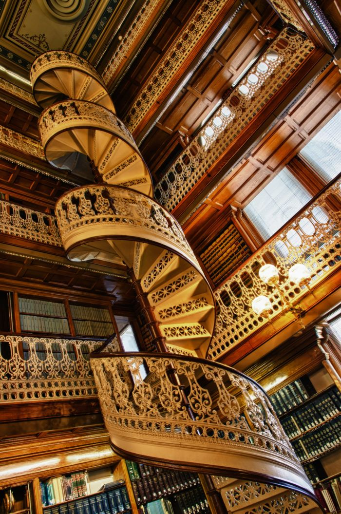 One Of The Most Majestic Libraries In The World Is Right Here In Iowa