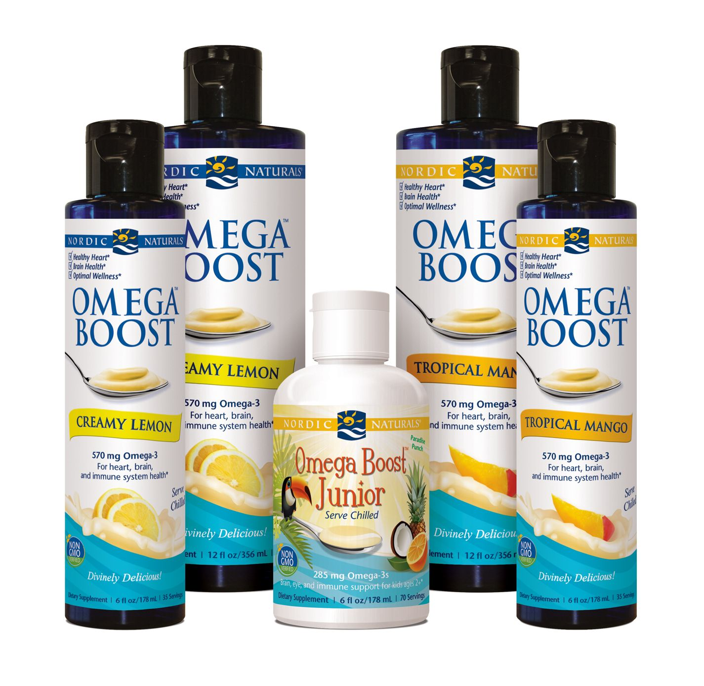Nordic Naturals Omega Boost™ is a creamy, delicious