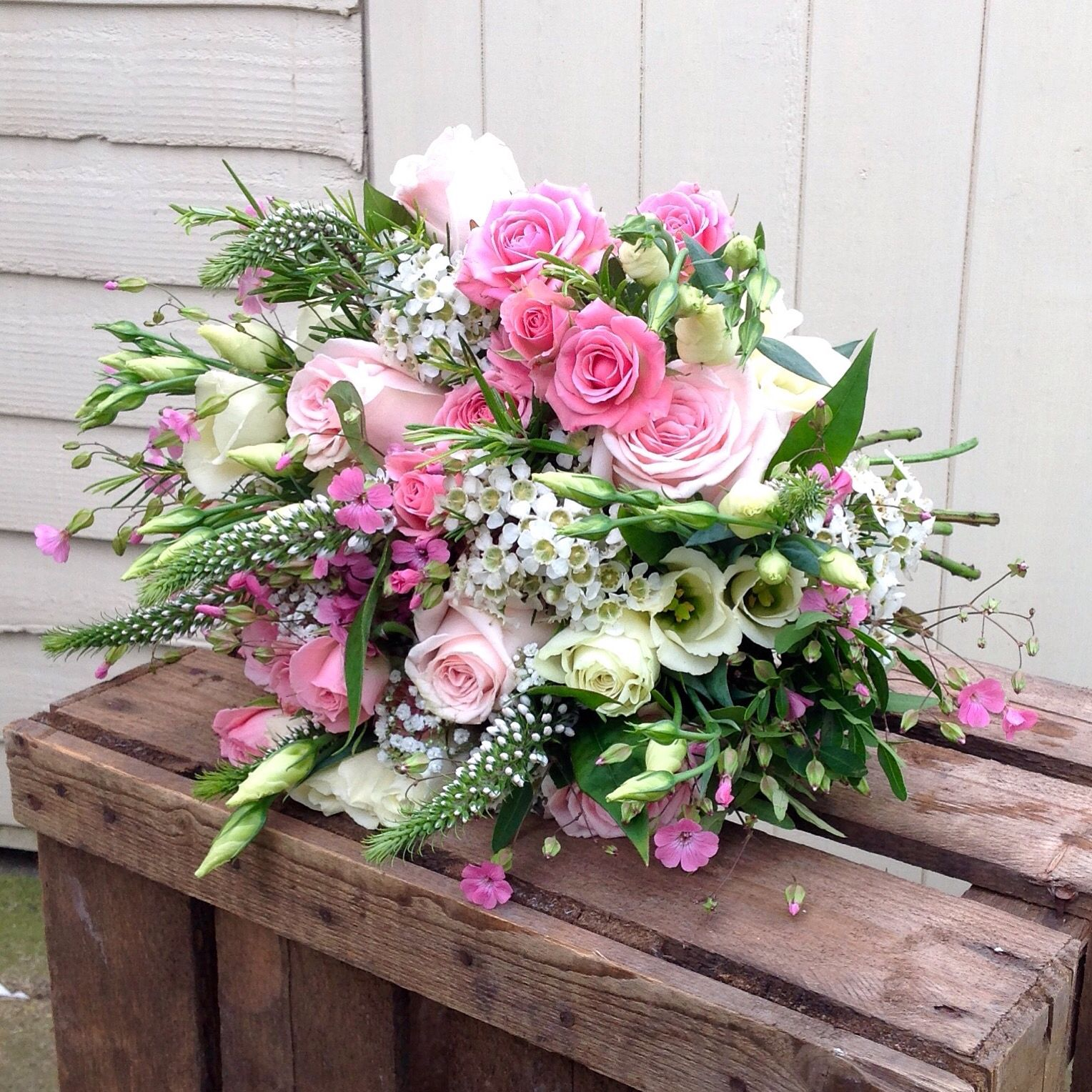 English Country Garden Bouquet By Miss Mollie S Flowers Beautiful Flower Arrangements Flower Arrangements Wedding Flowers