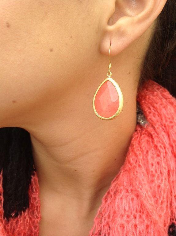 $25 Coral Ippolita inspired earrings