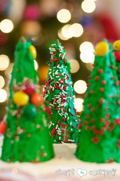Fun To Make Edible Christmas Tree Craft Christmas Tree Crafts Christmas Crafts Christmas Crafts Diy