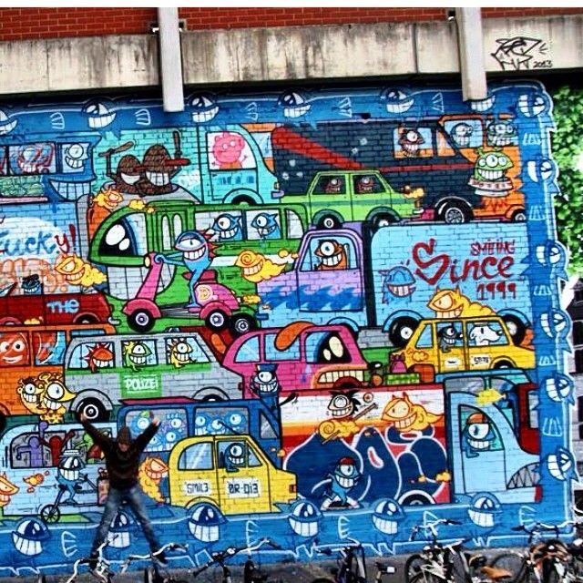 Biggest wall 2013!    Pez barcelona artist