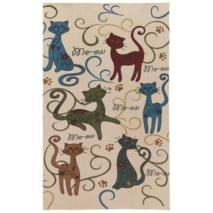 Festival Cats & Dogs Kitchen Towels #animalrescue