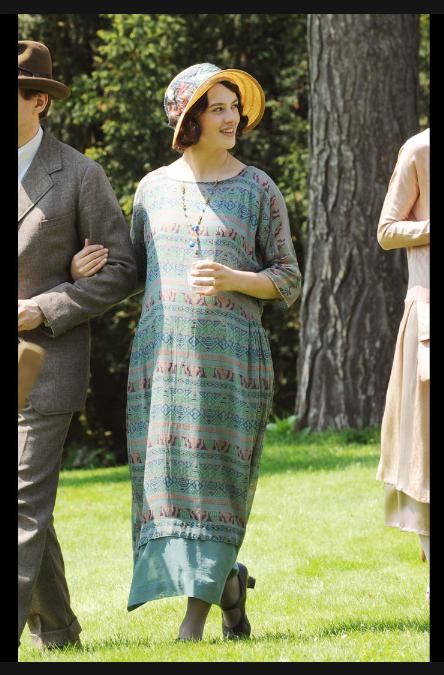 Lady Bagshaw Downton Abbey