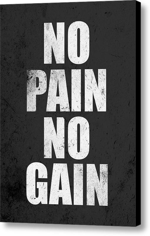Fitness Motivation Inspirational Print Canvas Print Canvas Art By Lab No 4 The Quotography Department In 2021 Gym Quote Fitness Motivation Training Quotes