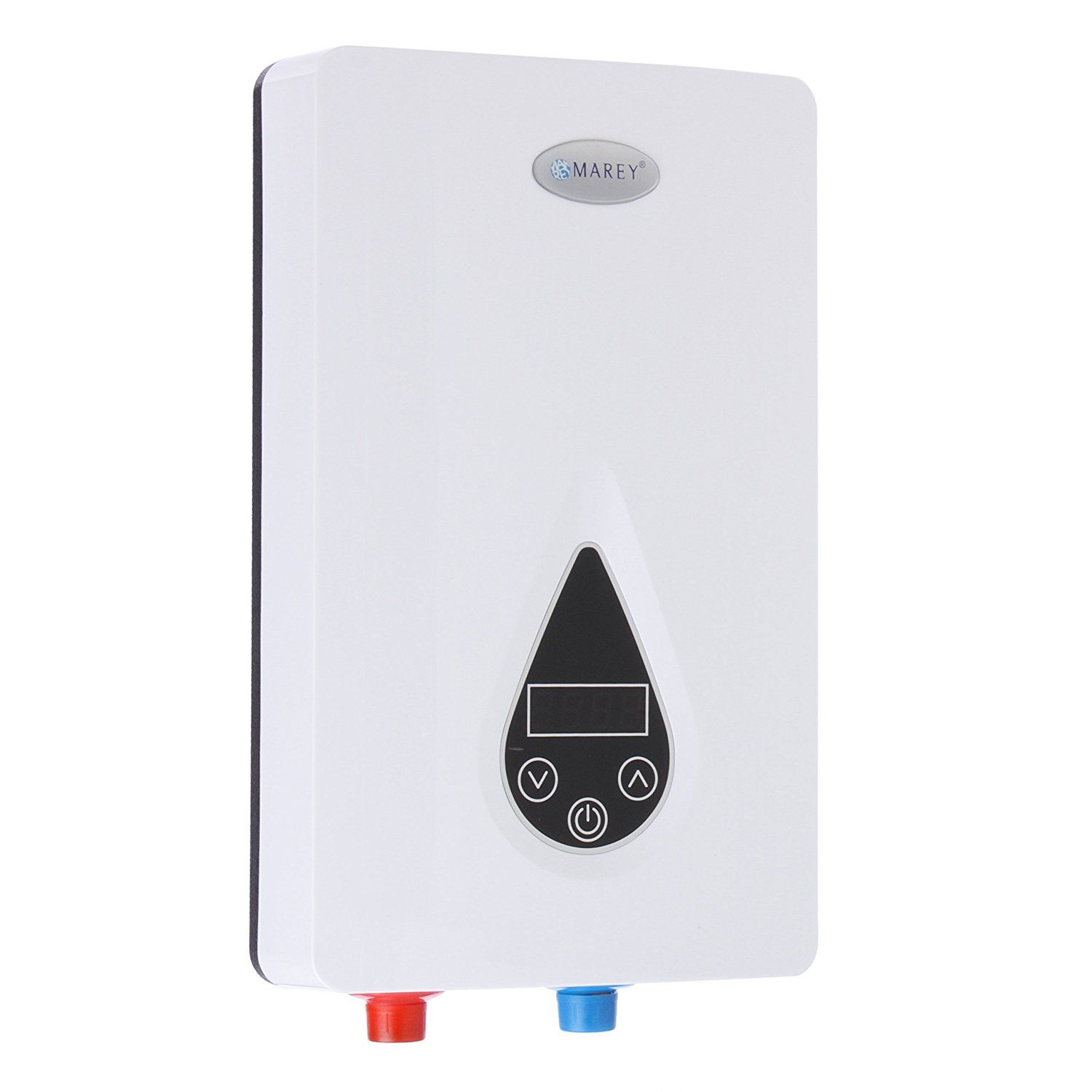 Marey Eco110 220v Self Modulating 11 Kw 3 0 Gpm Multiple Points Of Use Tankless Electric Tankless Hot Water Heater Tankless Water Heater Electric Water Heater