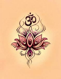 Maybe this or something similar for my next tattoo? Namaste
