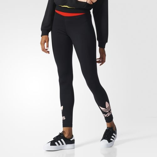 Comfy women s leggings with bold adidas style.  2320346ecb7