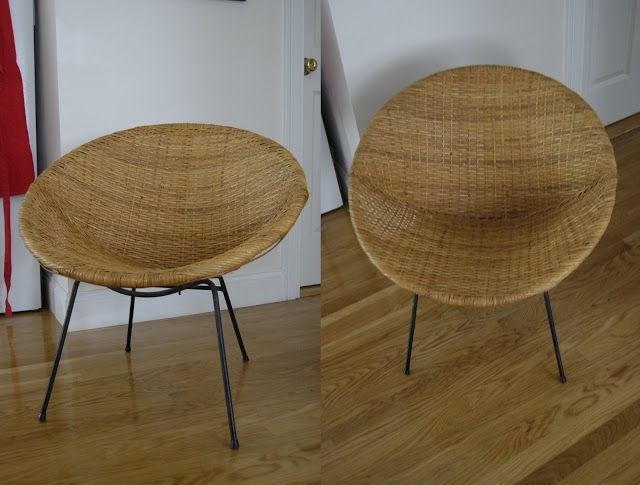 Lovely Pieces Of Anna: Bargain Hunting: 1960u0027s Round Wicker Chair