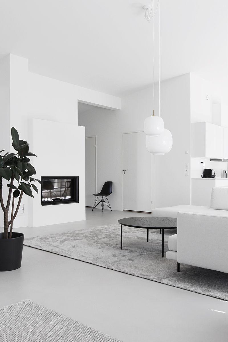 Home Tour  1 Monochrome Minimalist Family Home in Espoo Finland