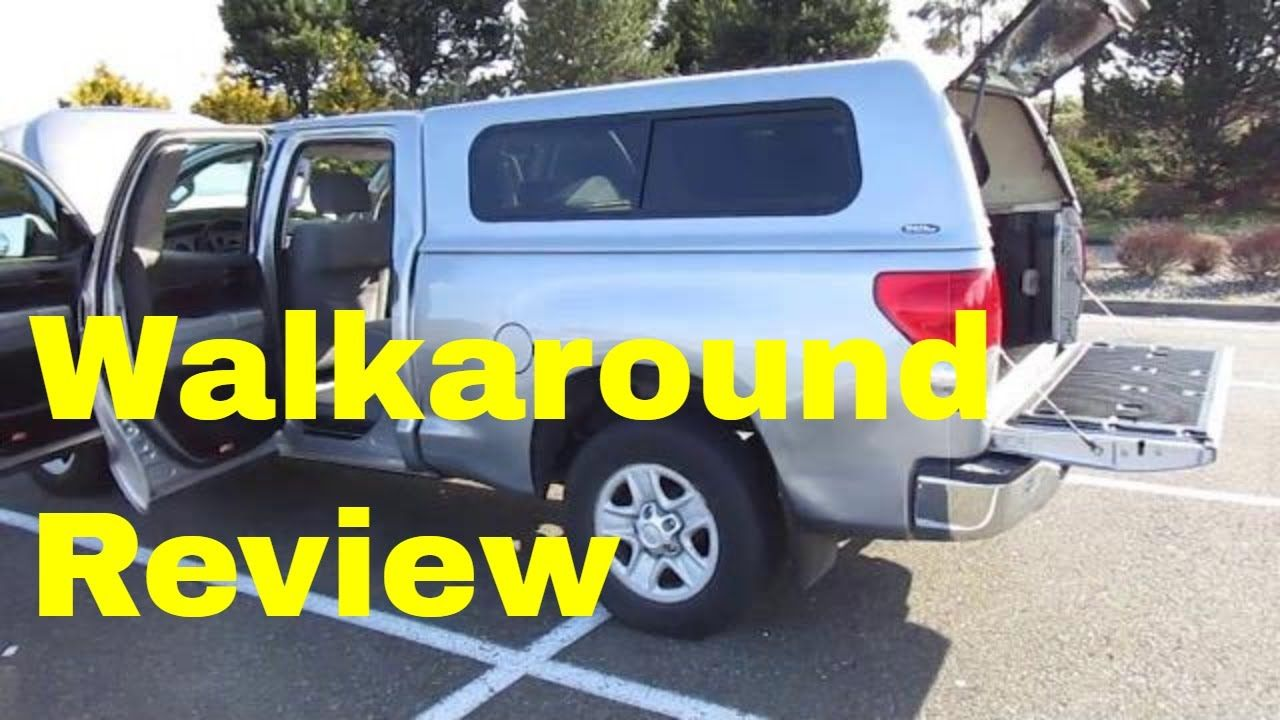 2008 Toyota Tundra V6 Double Cab Review This Is A 2008 Toyota