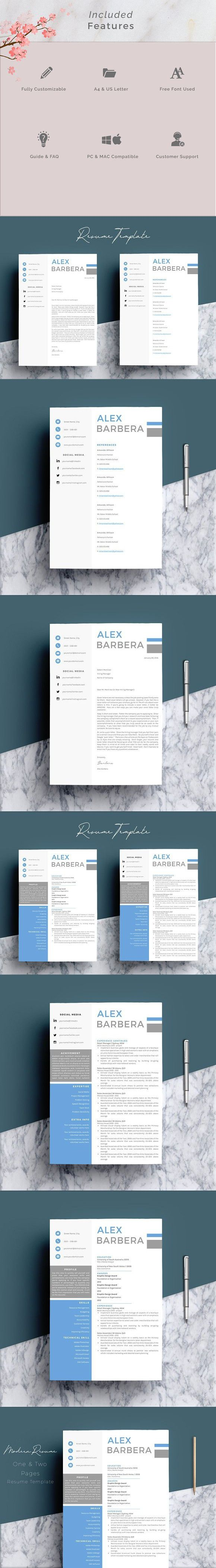 pages resume templates%0A Resume Template   Pages