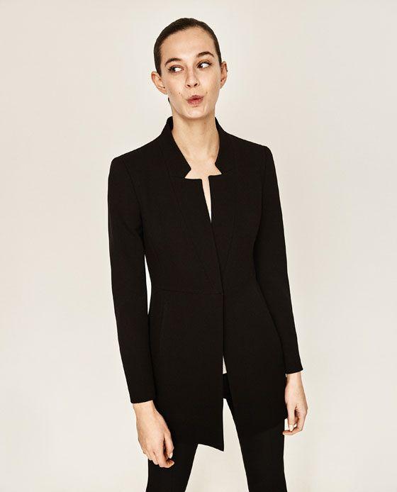 9926d5c4 INVERTED LAPEL FROCK COAT - Available in more colours Redingote,  Herringbone Coat, Blazer,