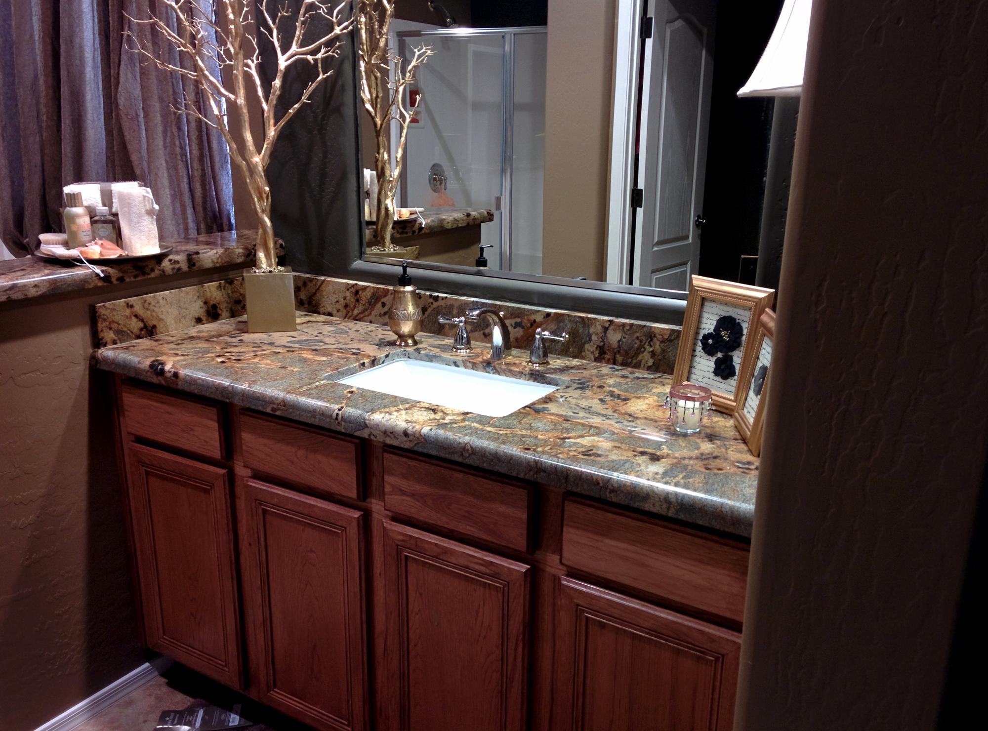 Dark Granite Bathroom Countertop Granite Bathroom Granite