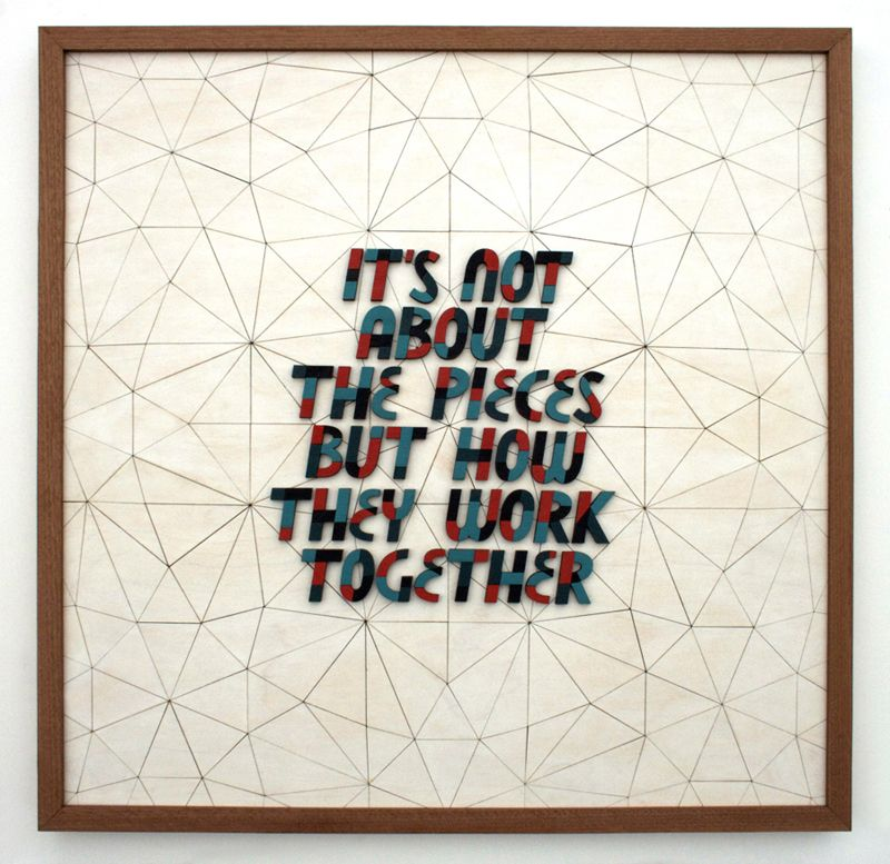 Wood Pulp New Work From Scotty Albrecht And Damion Silver Puzzle Quotes Teamwork Quotes Motivational Teamwork Quotes