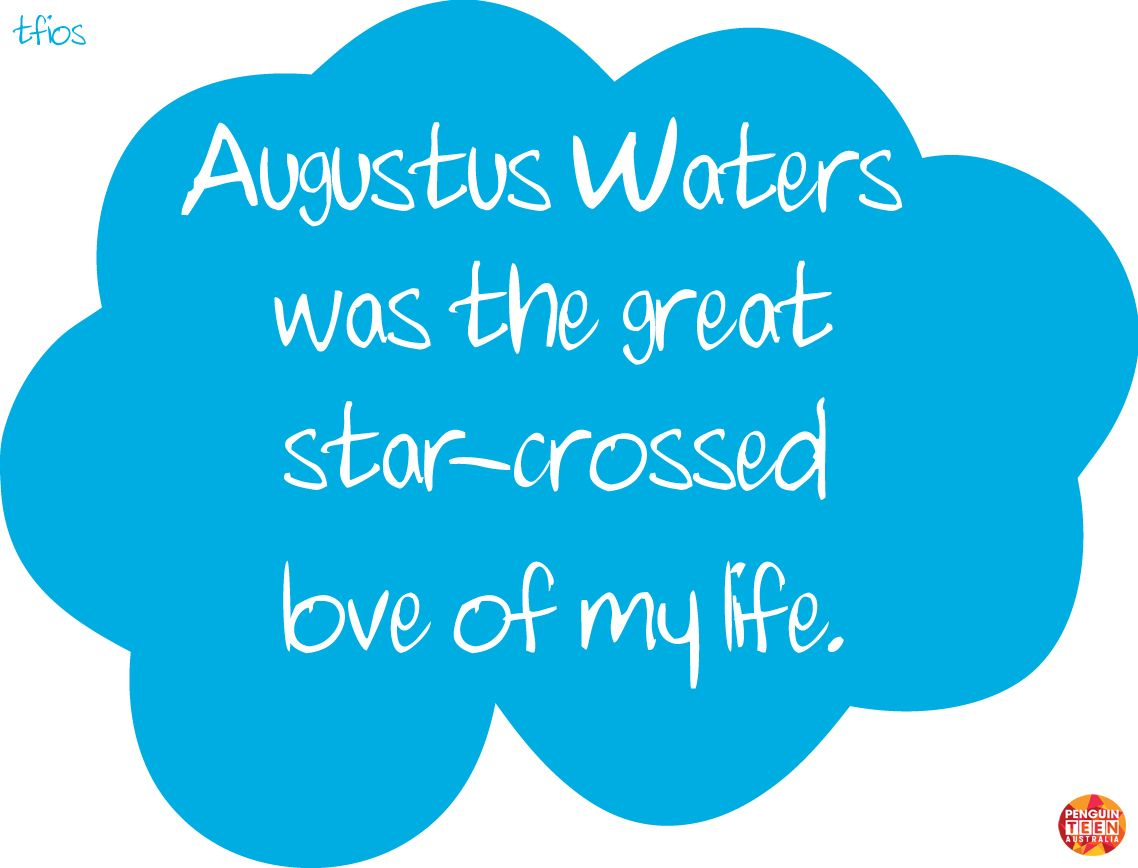 The Fault in Our Stars Quotes | The Fault in Our Stars Quote Cards - Chapter 20 | Penguin Teen ...