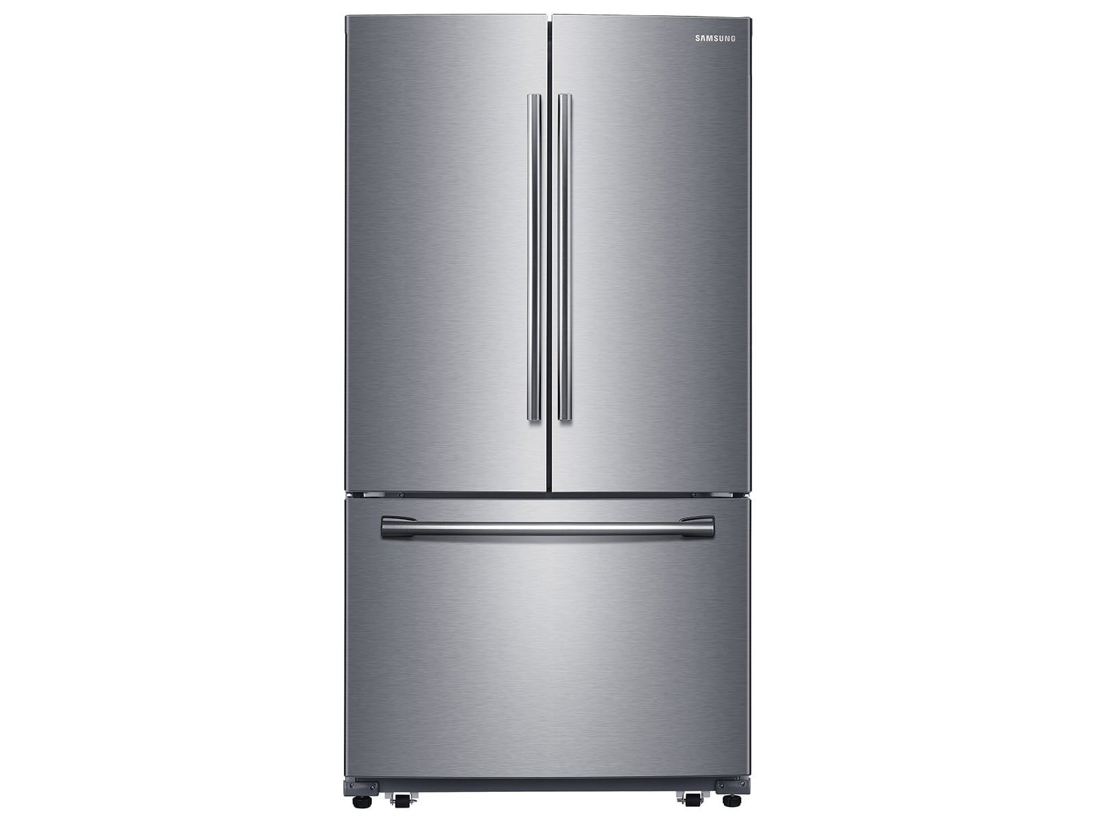 26 Cu Ft French Door Refrigerator With Filtered Ice Maker In Stainless Steel Stainless Steel French Door Refrigerator French Doors Appliances Kitchen Stainless Steel