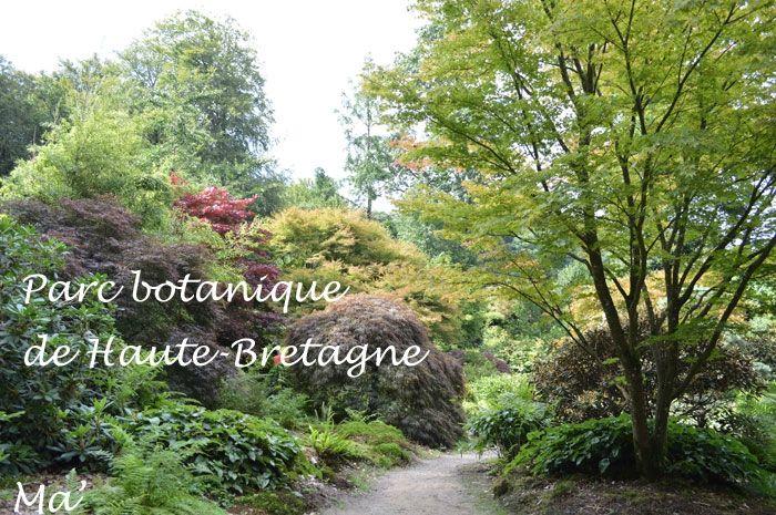Bretagne Le Parc Botanique De Haute Bretagne Du Cote De Chez Ma