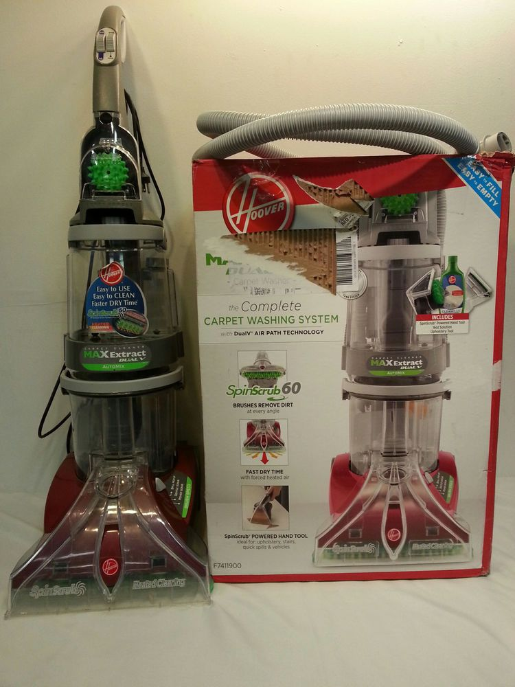 Hoover max extract dual v widepath carpet washer hoover