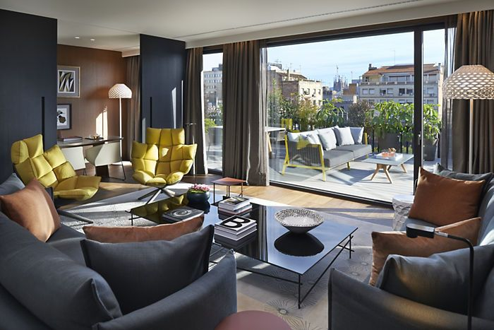 Barcelona Accommodation | Premier Terrace Suite | Mandarin Oriental, Barcelona
