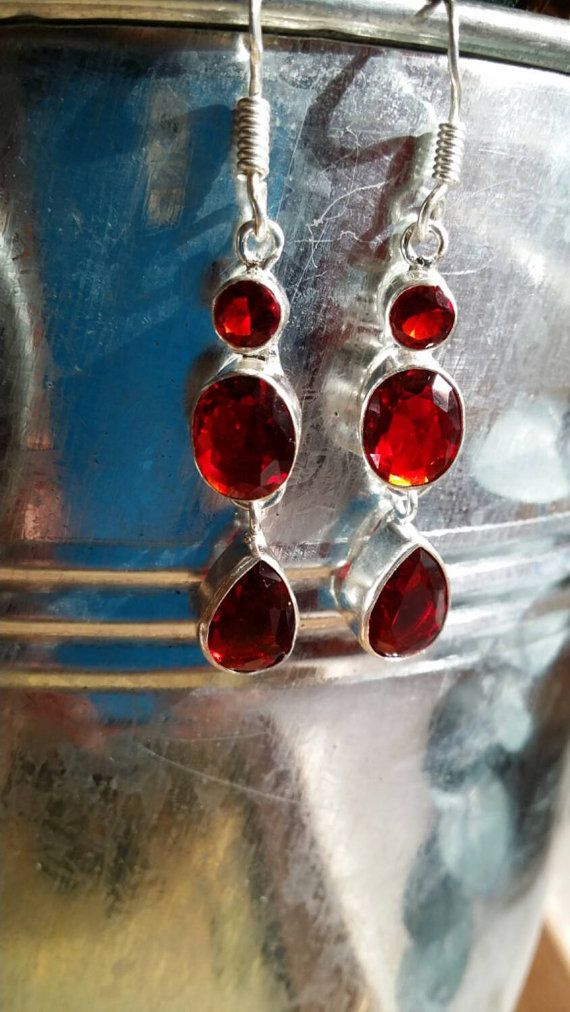 Check out this item in my Etsy shop https://www.etsy.com/listing/226468206/garnet-earrings-925-silver-earrings