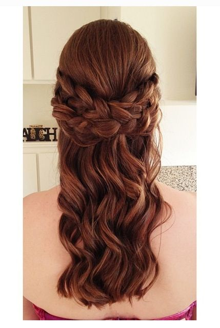 braid updo hair 's braided