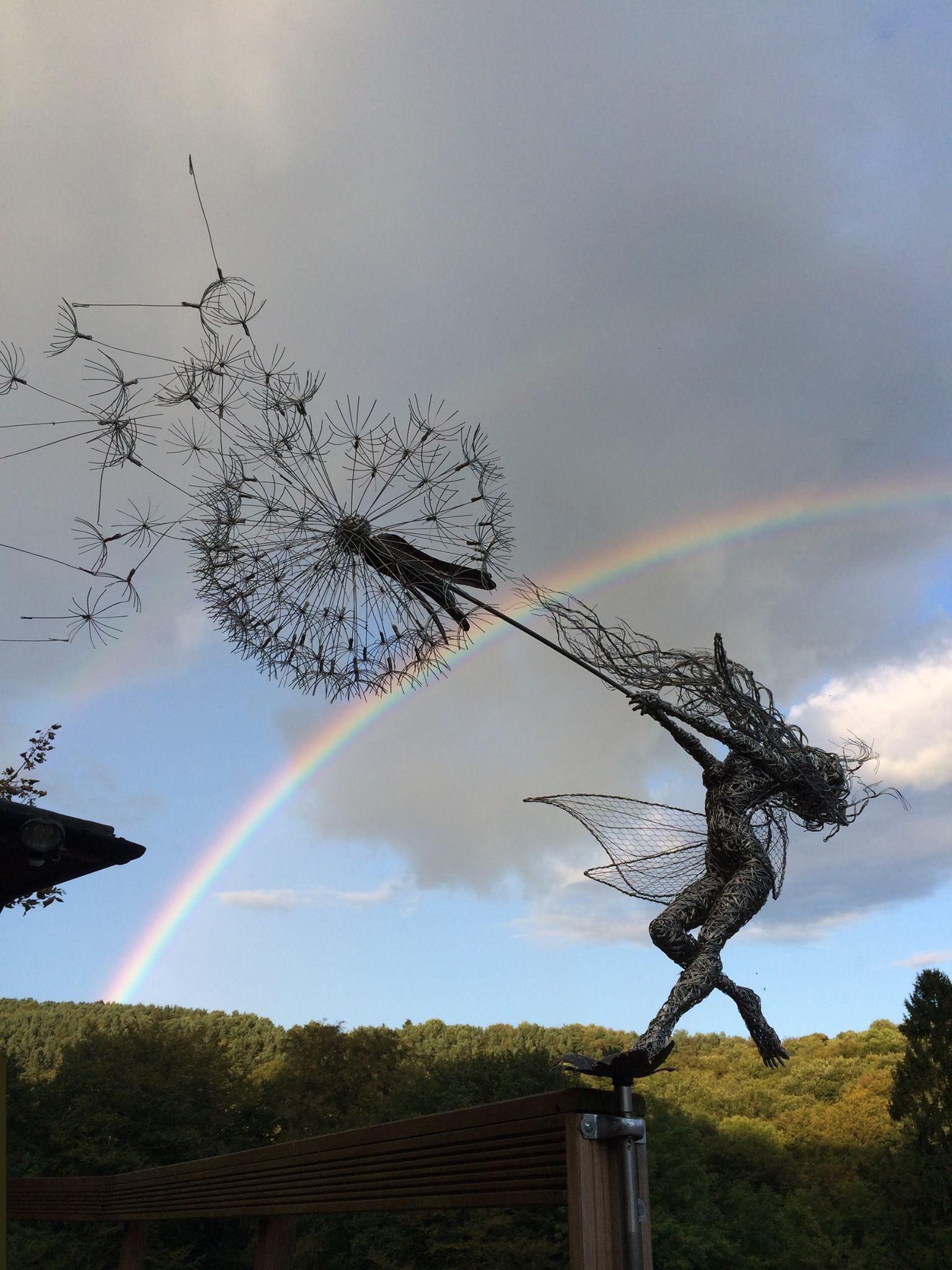 Wire Fairy Dandelion Sculpture Center Circuit Dvds Kevinchantcom Statue Fairies And Garden Magic Pinterest Statues Rh Ca Large Nebraska