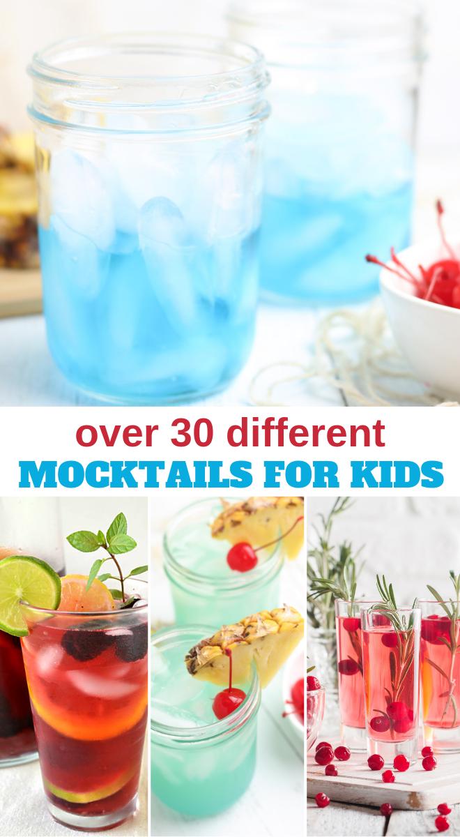 Mocktail Recipes For Kids Kids Drinks Party Kid Drinks Mocktails