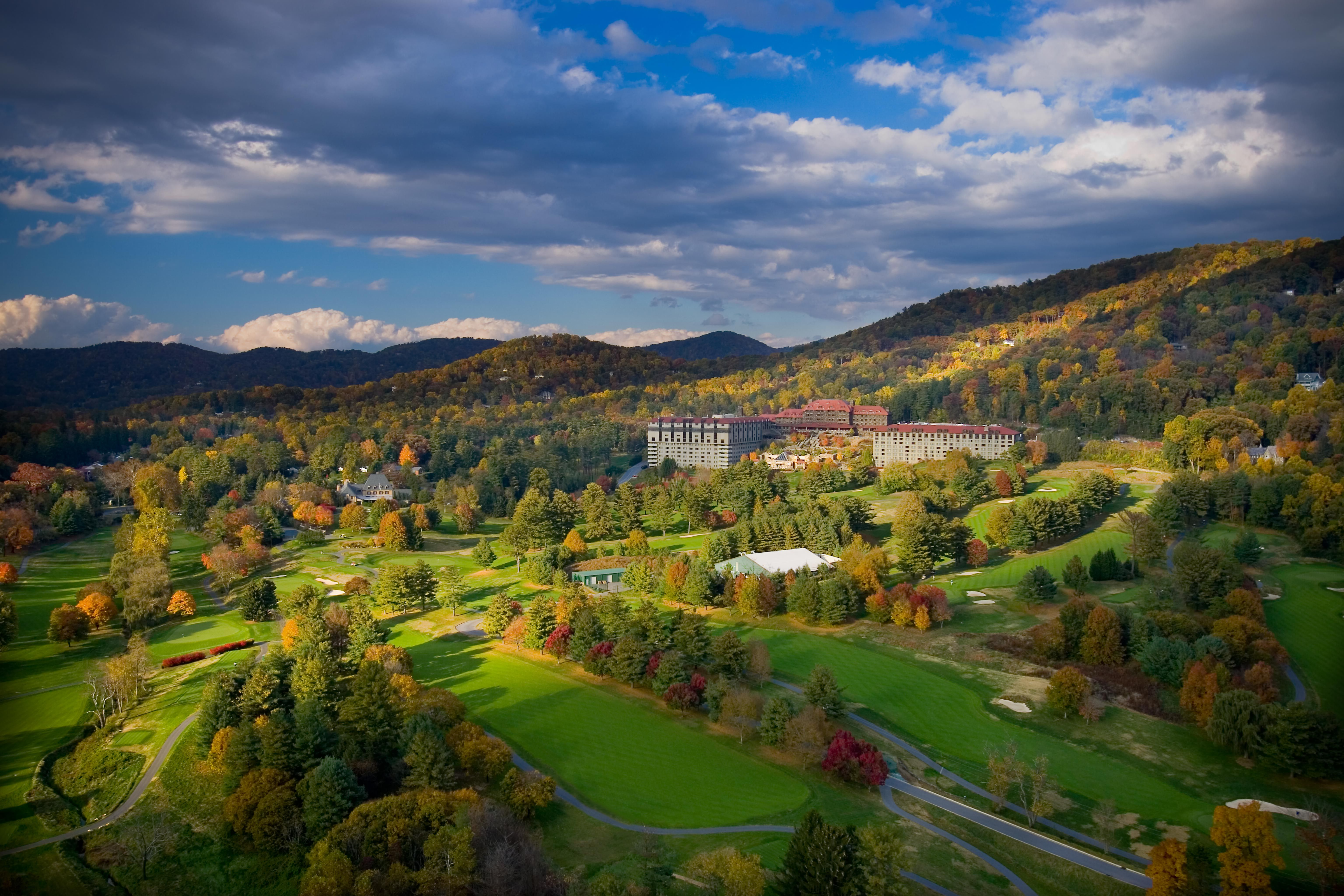 grove park inn in asheville, nc. this may be our fall getaway