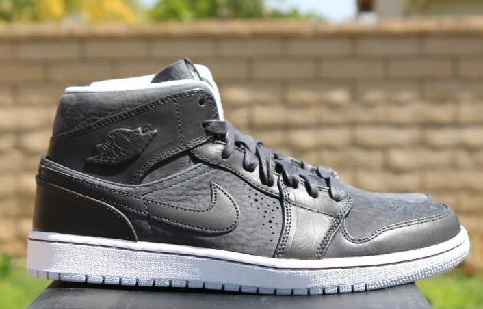 Image Air Jordan 1 Mid Nouveau Anthracite Sneakers Sneakers