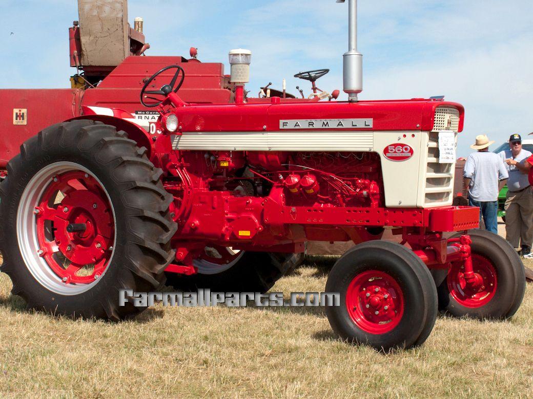 Farmall 560 Tractor : International harvester farmall diesel