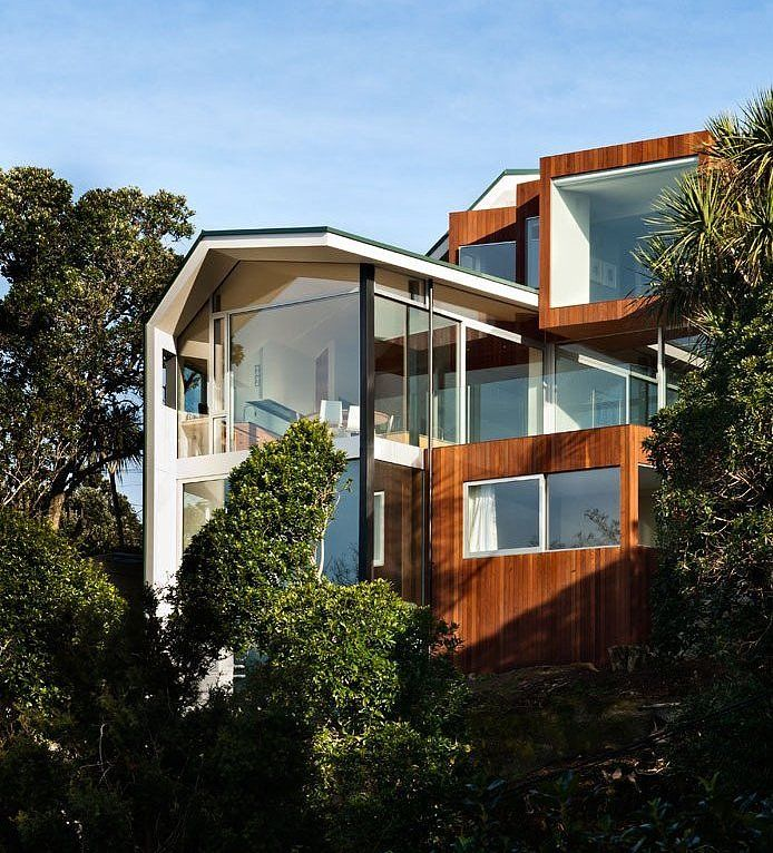 Seaview House By Parsonson Architects Photo Gallery