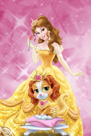 Belle And Teacup Palace Pets Game Get At App Store Disney
