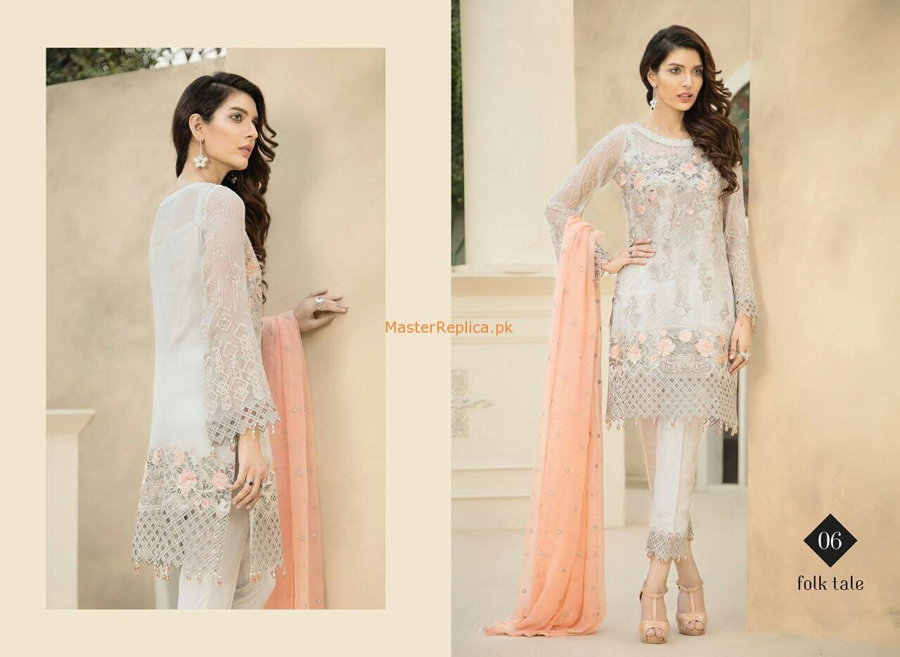5f559de568 Check Out Baroque Latest Embroidered Chiffon Collection Replica at Master  Replica Pakistan Call/WhatsApp: +923322622227 #pakiclothing  #pakistanidesignerwear ...