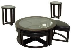 Features:      834-40 Cocktail Table w/ Stools     834-50 End Table