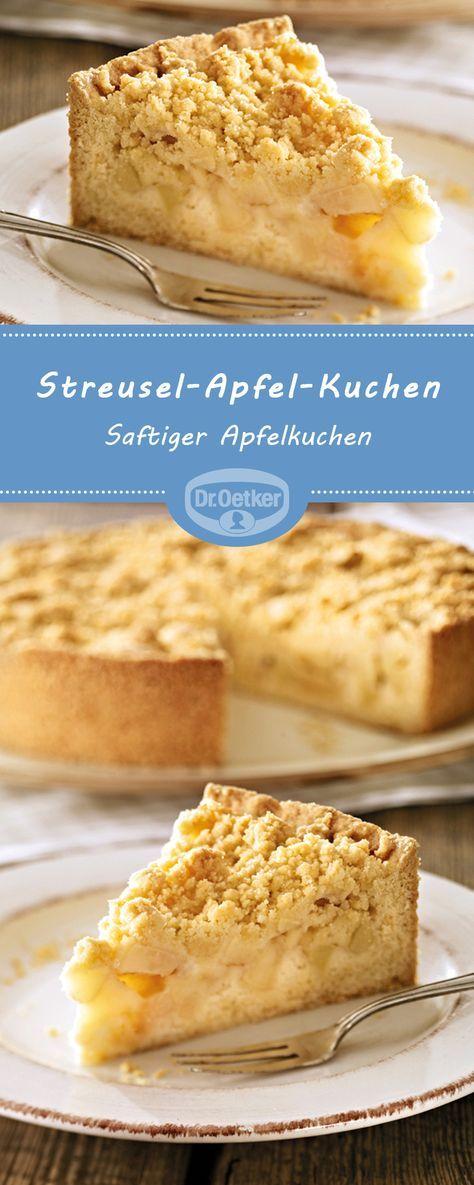 Streusel-Apfel-Kuchen #simpleicingrecipe