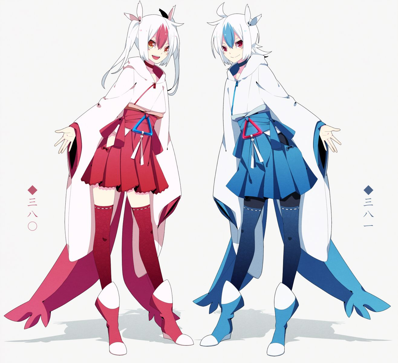 human version gijinka pokemon, Latios and Latias they are ...