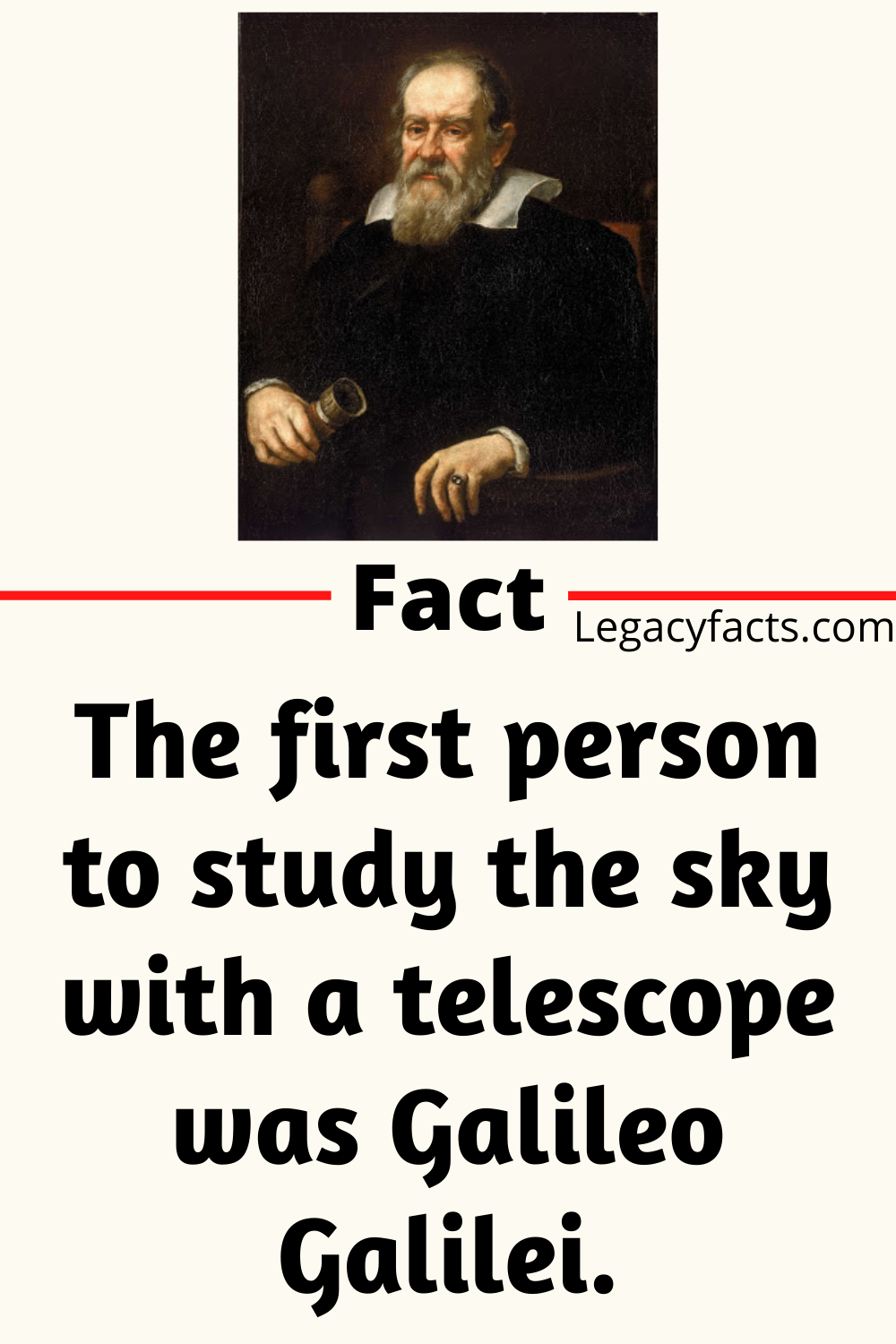 42 Facts About Galileo Galilei Legacy Facts Life Facts Facts Fun Facts